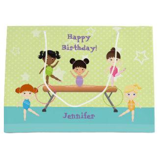 Grand Sac Cadeau Partie de gymnastique