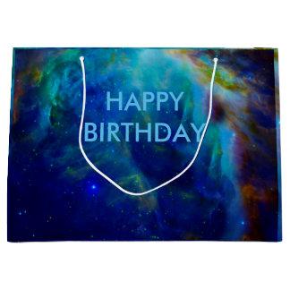 Grand Sac Cadeau Univers cosmique de l'espace de galaxie de