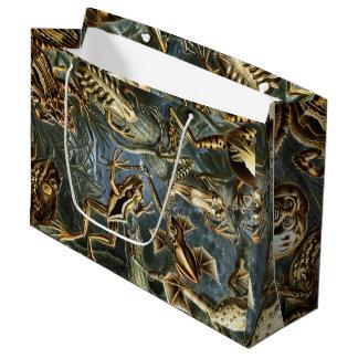 Grand Sac Cadeau Variété d'Ernst Haeckel de grenouilles exotiques :