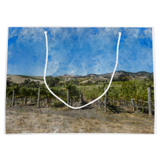 Grand Sac Cadeau Vignoble dans Napa Valley la Californie