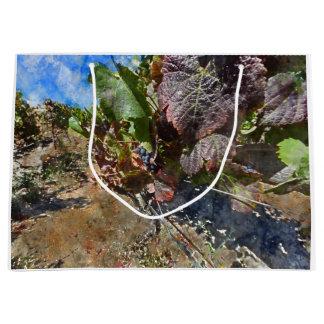 Grand Sac Cadeau Vignoble dans Napa Valley pendant l'automne