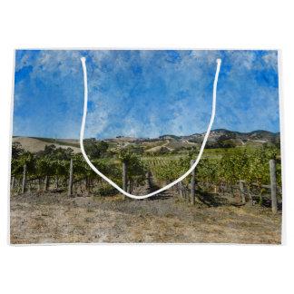 Grand Sac Cadeau Vignoble de Napa Valley