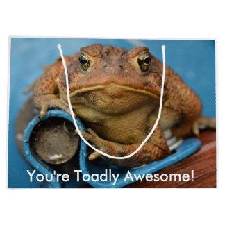 Grand Sac Cadeau Vous êtes Toadly impressionnant !