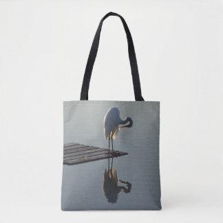 Grand sac fourre-tout à animaux de faune d'oiseau