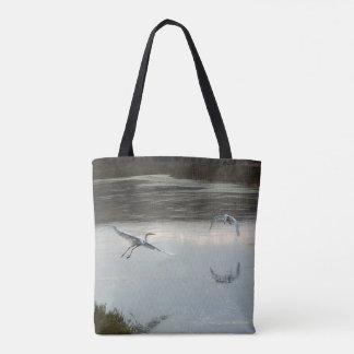 Grand sac fourre-tout à animaux de faune d'oiseaux