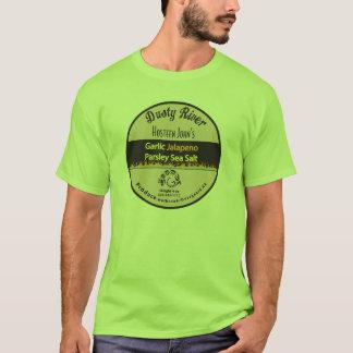 Grand sel de Jalapeno d'ail de T-shirt
