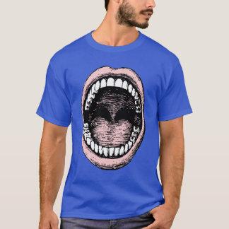 Grand T-shirt de bouche