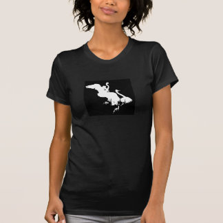 Grand T-shirt de hérons