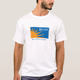 Grand T-shirt de logo de Mise Eire