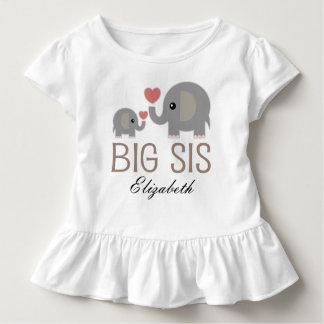 Grand T-shirt personnalisé de filles de SIS par