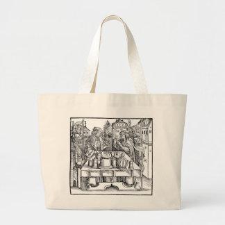 Grand Tote Bag Alchimiste royal dans le château