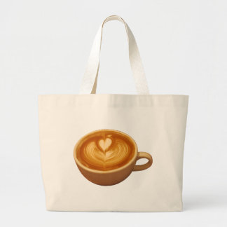 Grand Tote Bag Amour de café