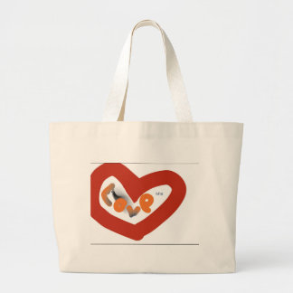Grand Tote Bag amour enorme