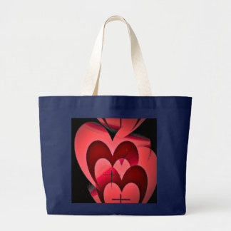 Grand Tote Bag Amour pour toujours vrai