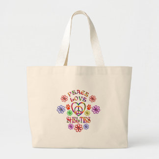 Grand Tote Bag Amour Shelties de paix