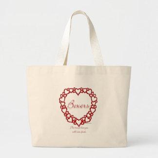 Grand Tote Bag Amour vrai de boxeur
