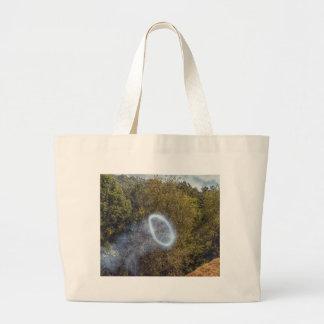 Grand Tote Bag Anneau de fumée de canon
