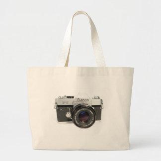 Grand Tote Bag Appareil-photo Canon, cadeaux de photographie,