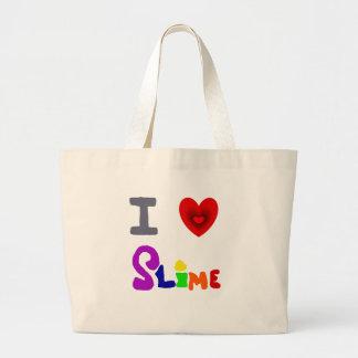 Grand Tote Bag Art drôle de boue d'amour d'I