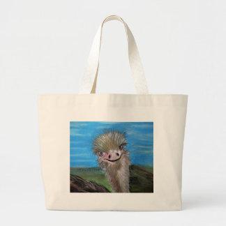 Grand Tote Bag autruche