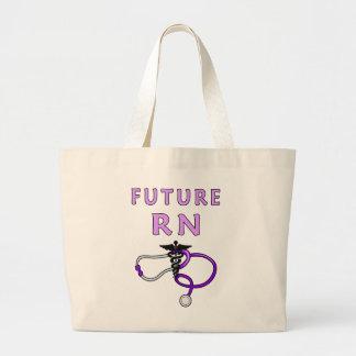 Grand Tote Bag Avenir RN d'infirmière