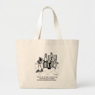 Grand Tote Bag Bande dessinée 1795 d'incapacité