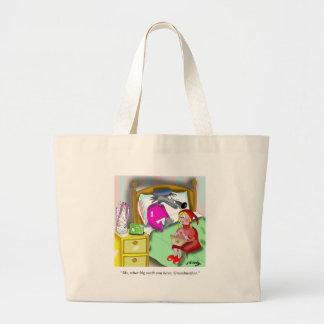 Grand Tote Bag Bande dessinée 9394 de dentier