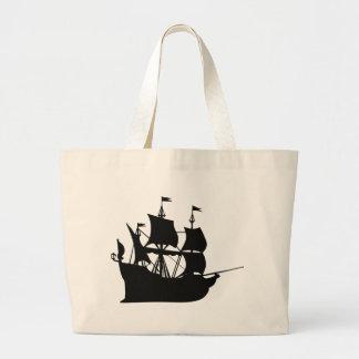 Grand Tote Bag Bateau de pirate