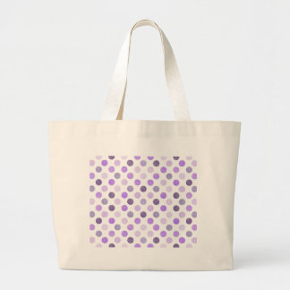 Grand Tote Bag Beau motif de points VI