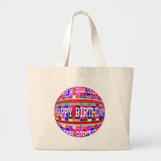 Grand Tote Bag BEAUCOUP de manières de dire le JOYEUX