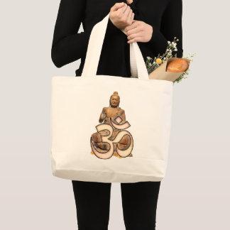 Grand Tote Bag Bouddha OM