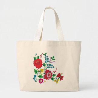 Grand Tote Bag Broderie de Kalocsa