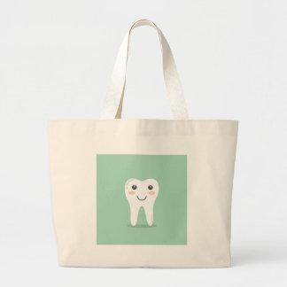 Grand Tote Bag Brosse à dents de brossage de dent de dentiste