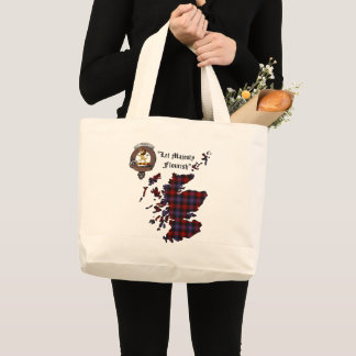 Grand Tote Bag Brown/clan de Broun Badge Fourre-tout enorme