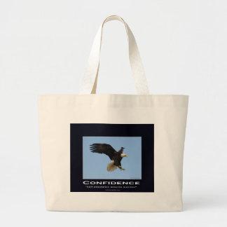 Grand Tote Bag Cadeaux de motivation chauves d'Eagle