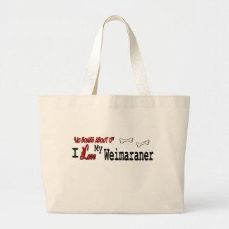 Grand Tote Bag Cadeaux de Weimaraner