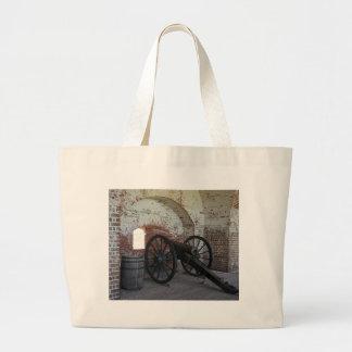 Grand Tote Bag Canon au fort Pulaski