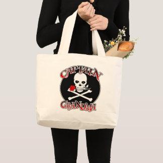 Grand Tote Bag Capitaine Grandma Jumbo Fourre-tout