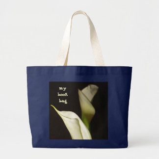 Grand Tote Bag Cartable élégant de Lillies de calla
