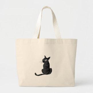 Grand Tote Bag Chat noir