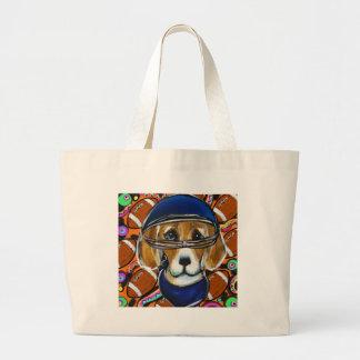 Grand Tote Bag Chien de beagle