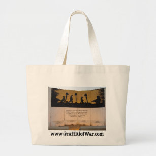 Grand Tote Bag Citation de mémorial/Garfield de barrière du Jerse