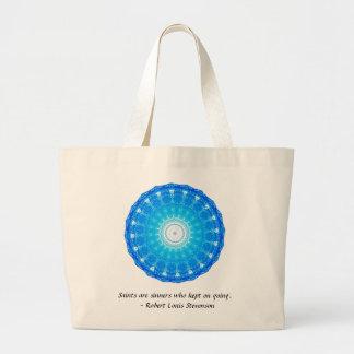Grand Tote Bag CITATION drôle inspirée de motivation