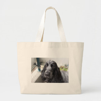 Grand Tote Bag Cocker anglais