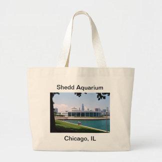 Grand Tote Bag Collection d'aquarium de Chicago Shedd