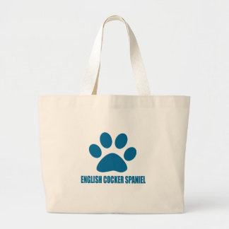 GRAND TOTE BAG CONCEPTIONS ANGLAISES DE CHIEN DE COCKER