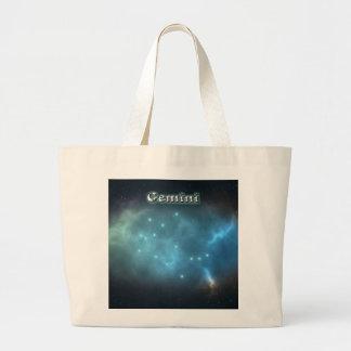 Grand Tote Bag Constellation de Gémeaux