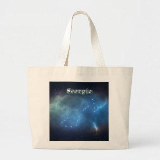 Grand Tote Bag Constellation de Scorpion