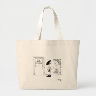 Grand Tote Bag Consultation de la bande dessinée 4967