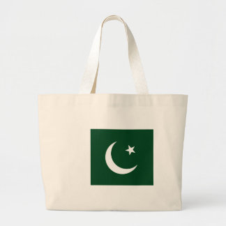 Grand Tote Bag Coût bas ! Drapeau du Pakistan